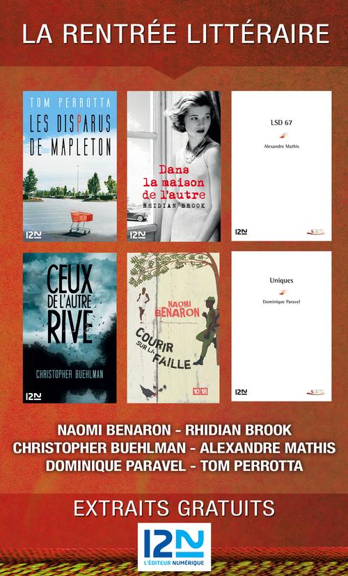 La rentrée littéraire de 12-21, l'éditeur numérique