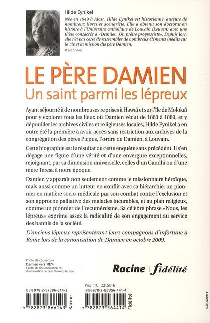 Le père Damien ; un saint parmis les lépreux