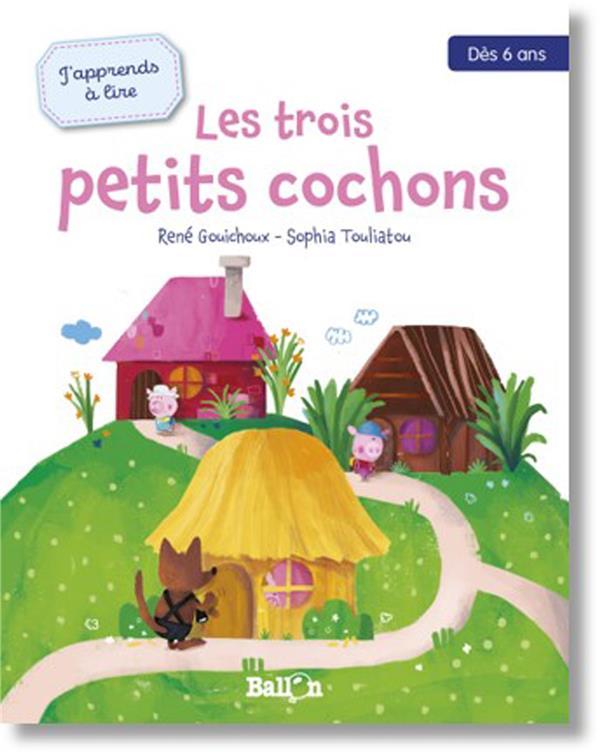 J'apprends à lire ; les trois petits cochons