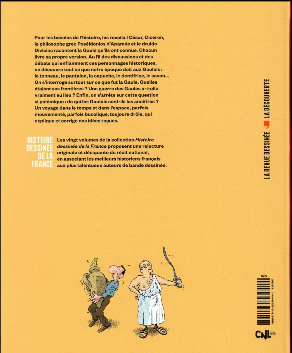 Histoire dessinee de la france n.2 ; l'enquete gauloise : de massilia a jules cesar