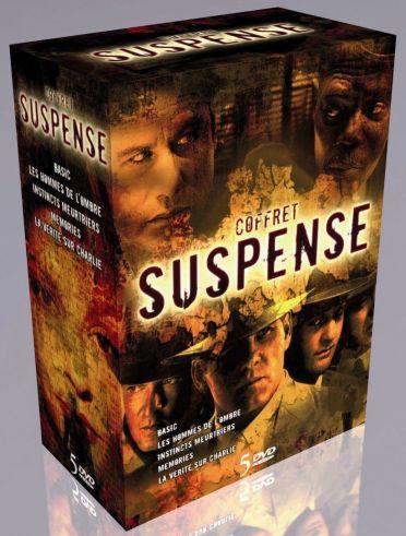 Suspense : Les hommes de l'ombre ; Instincts meurtriers ; Memories ; La vérité sur Charlie ; Basic