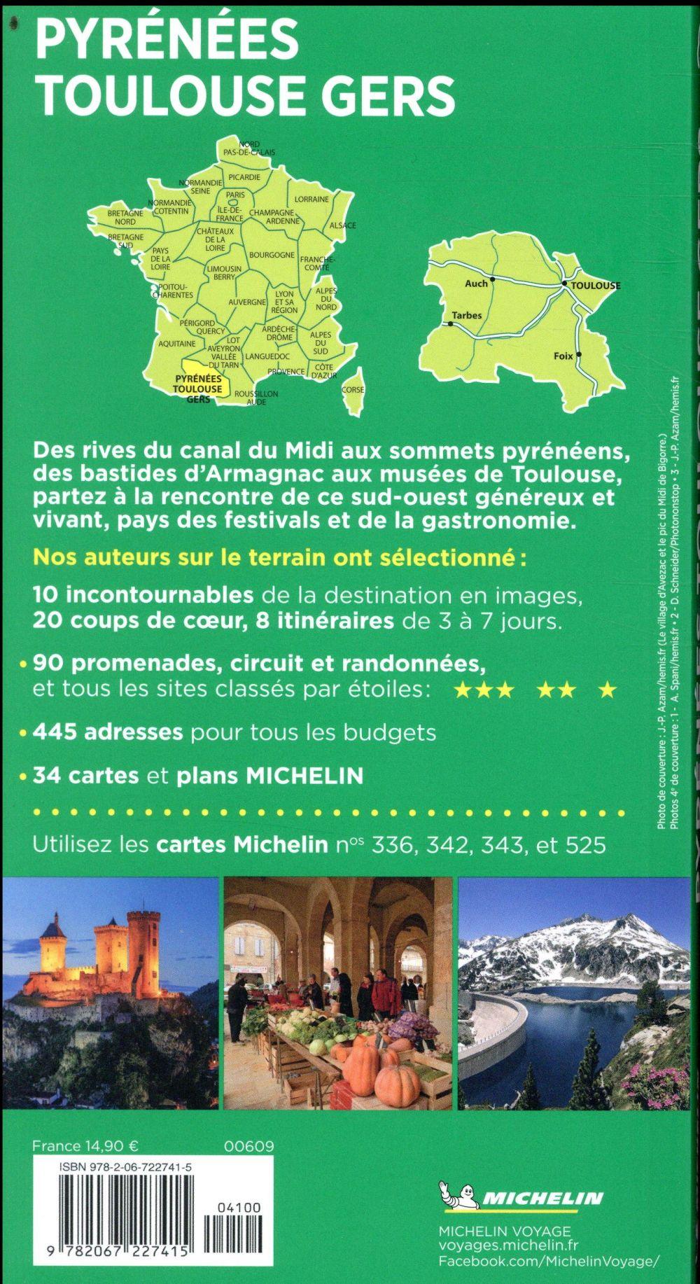 Le guide vert ; Pyrénées, Toulouse, Gers