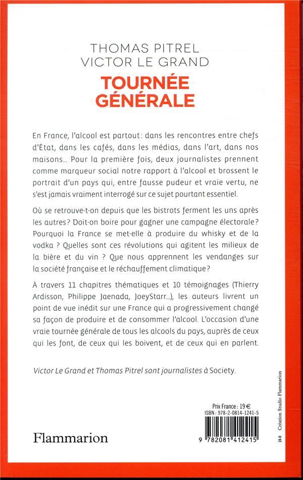 Tournée générale ; les Français et l'alcool