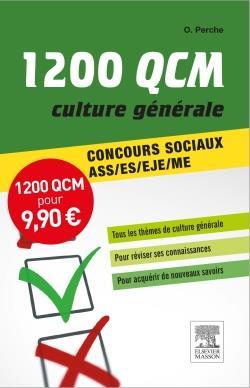 1 200 QCM CULTURE GENERALE  -  CONCOURS SOCIAUX ASSESEJEME