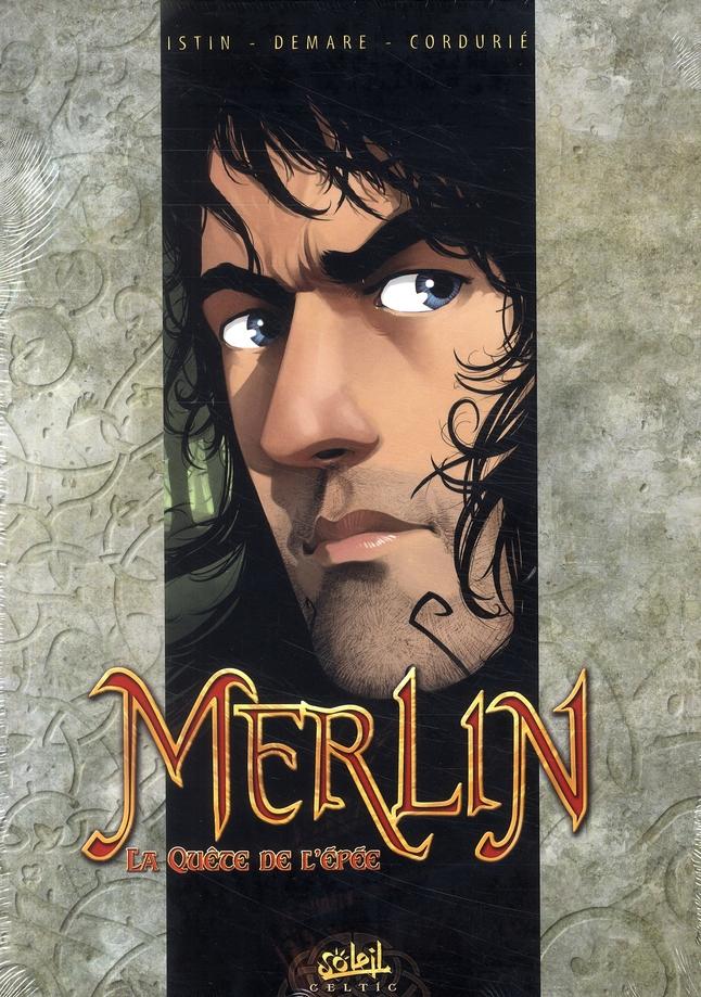 Merlin - la quête de l'épée ; COFFRET T.1 A T.3