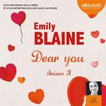 Vente AudioBook : Dear you - saison 3  - Emily Blaine