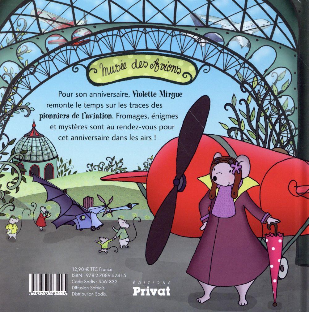 Une aventure de Violette Mirgue T.3 ; un anniversaire en avion