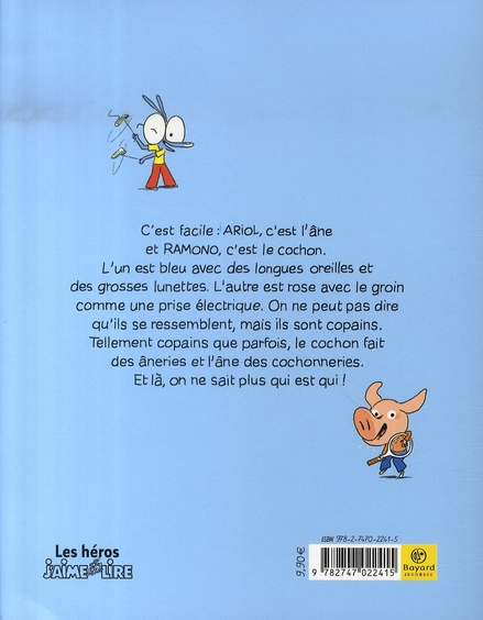 Ariol T.3 ; copain comme cochon