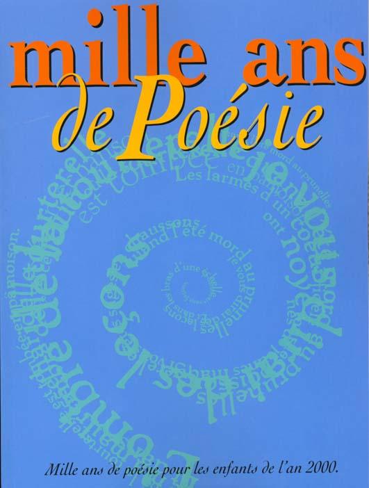 Mille ans de poesie