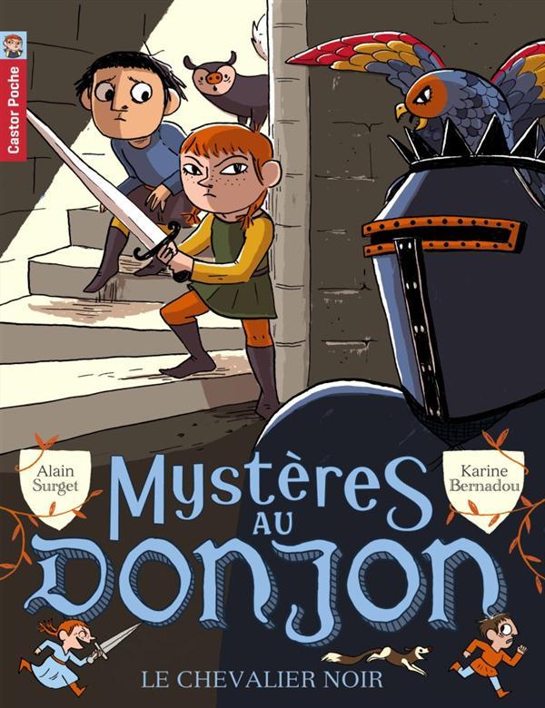 Mystères au donjon t.1 ; le chevalier noir