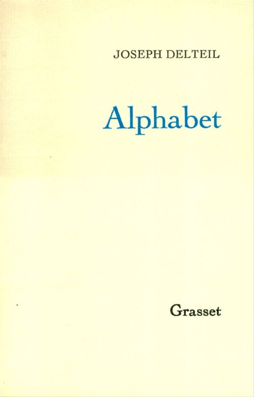 Alphabet  - Joseph Delteil