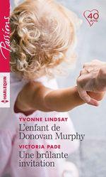 Vente Livre Numérique : L'enfant de Donovan Murphy - Une brûlante invitation  - Victoria Pade - Yvonne Lindsay