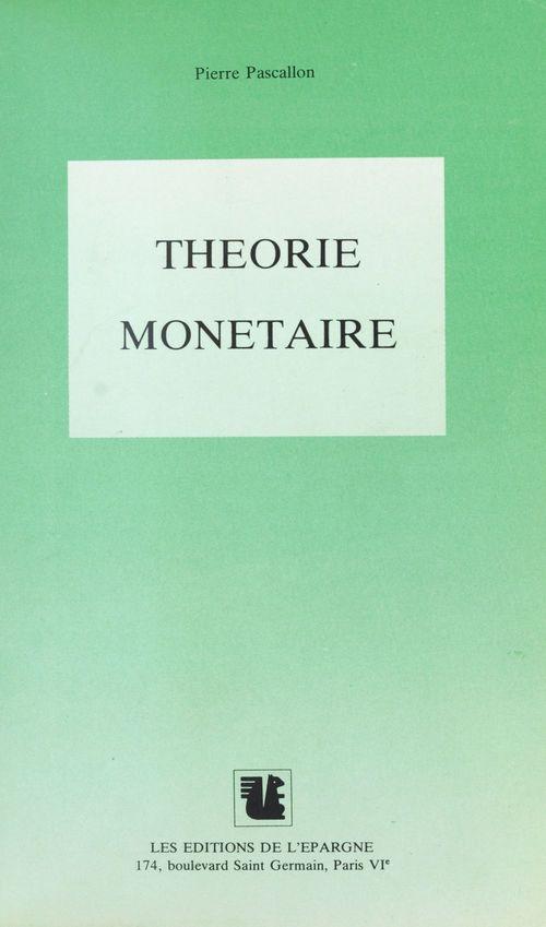 Theorie monetaire