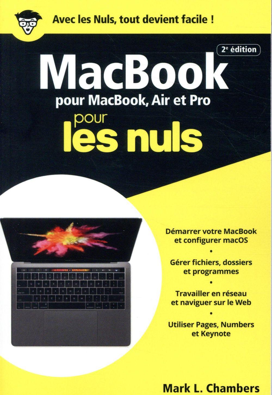 MacBook pour MacBook, Air et Pro pour les nuls (2e édition)