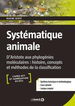 Vente Livre Numérique : Systématique animale  - Maxime Hervé