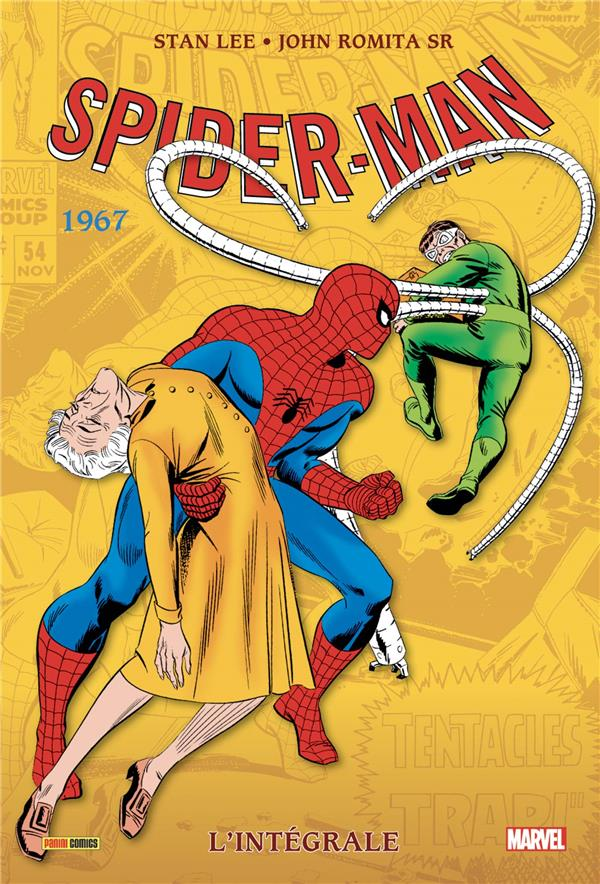 The amazing Spider-Man ; INTEGRALE VOL.5 ; 1967