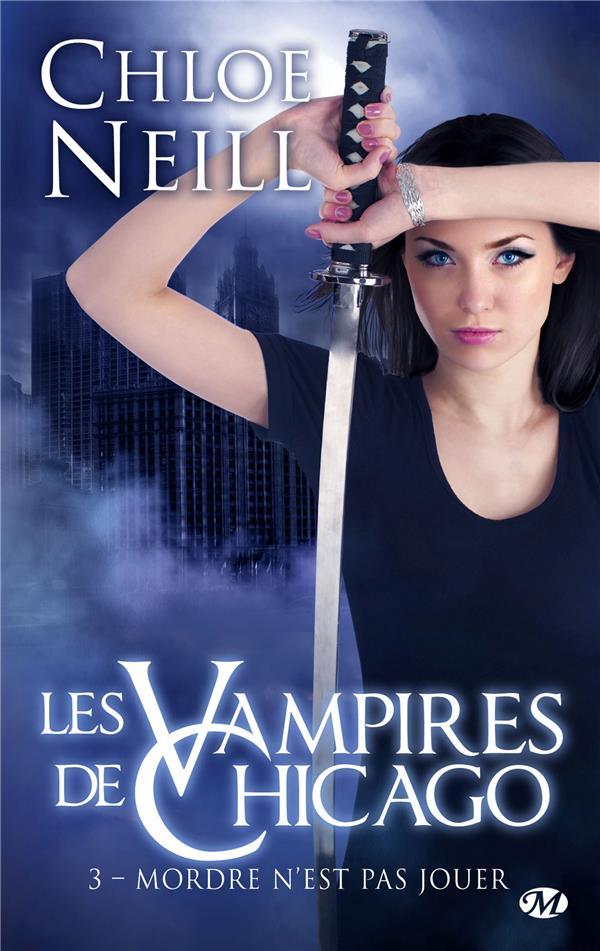 Les Vampires De Chicago T.3 ; Mordre N'Est Pas Jouer