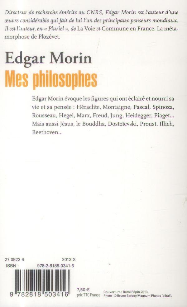 mes philosophes