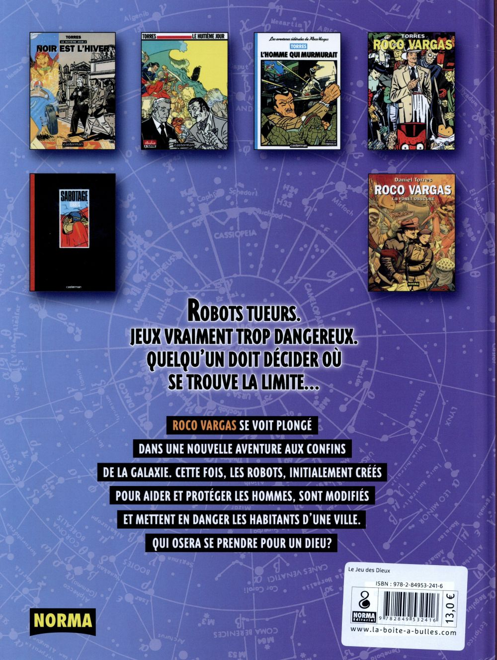 Roco Vargas t.6 ; le jeu des dieux