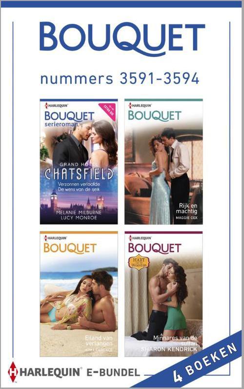 Bouquet e-bundel nummers 3591-3594