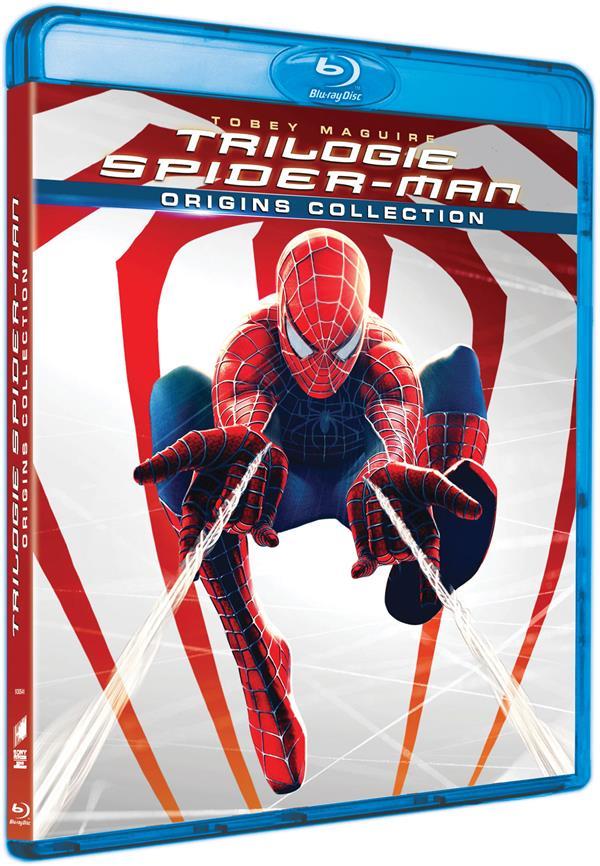 Trilogie Spider-Man : Spider-Man + Spider-Man 2 + Spider-Man 3