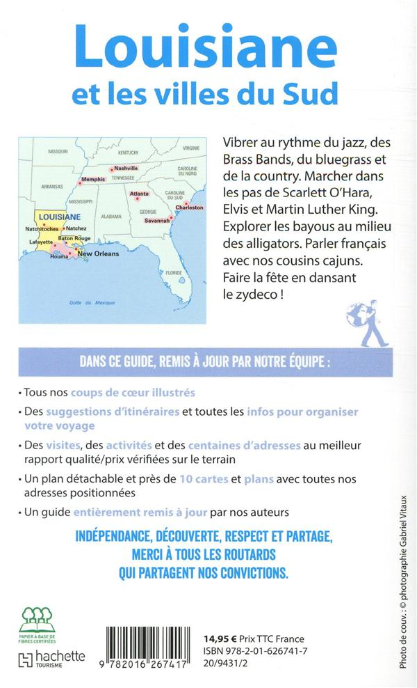 Guide du Routard ; Louisiane et les villes du Sud (édition 2019/2020)