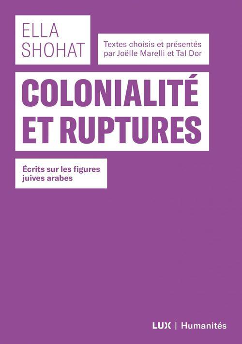 Colonialité et ruptures