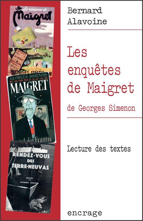 Les enquêtes de Maigret de Georges Simenon ; lecture de textes