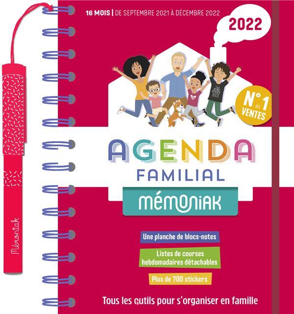 Mémoniak ; agenda familial (édition 2021/2022)
