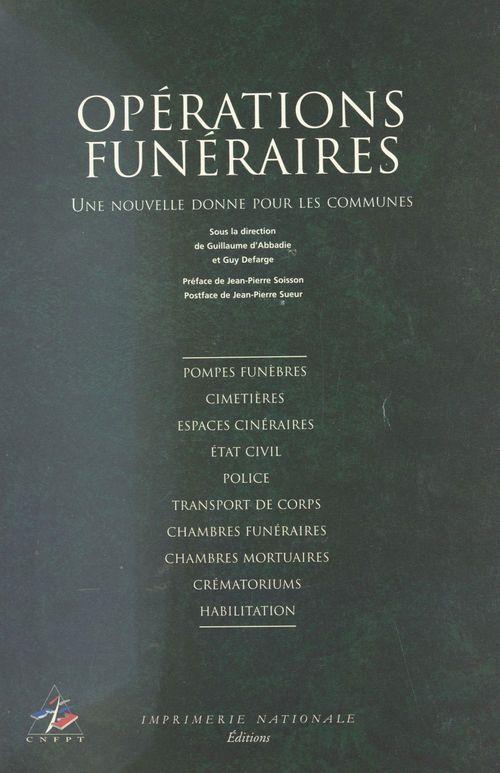 Operations funeraires, une nouvelle donne pour les communes