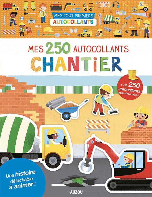 MES 250 AUTOCOLLANTS CHANTIER YI-HSUAN, WU