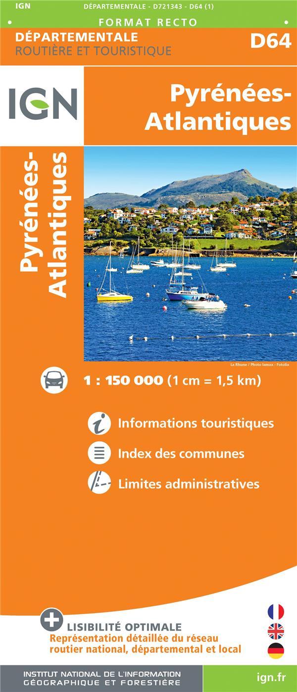 D721343 ; Pyrénées-Atlantiques (édition 2018)