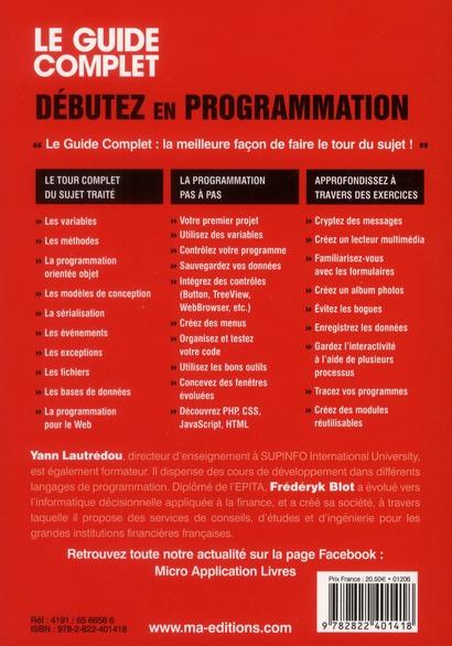 Débutez en programmation (5e édition)