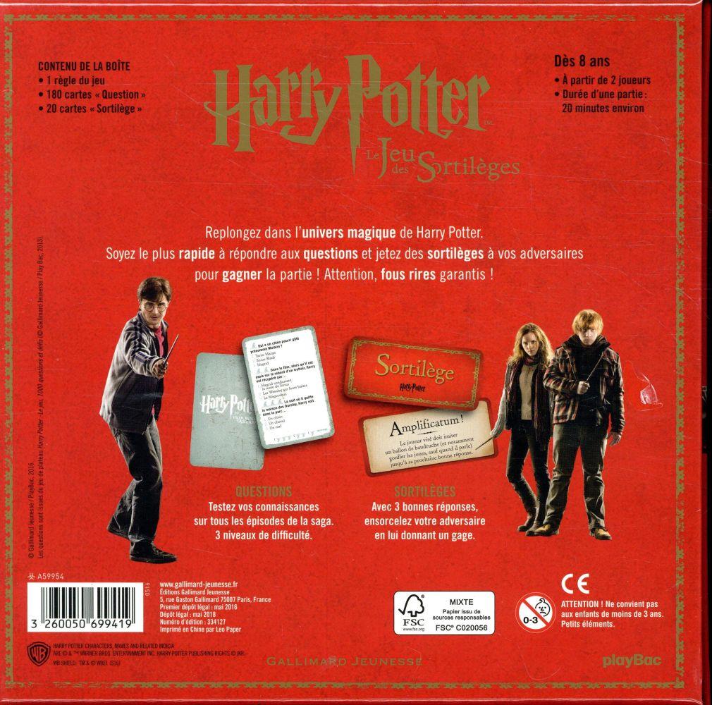 Harry Potter ; le jeu des sortilèges