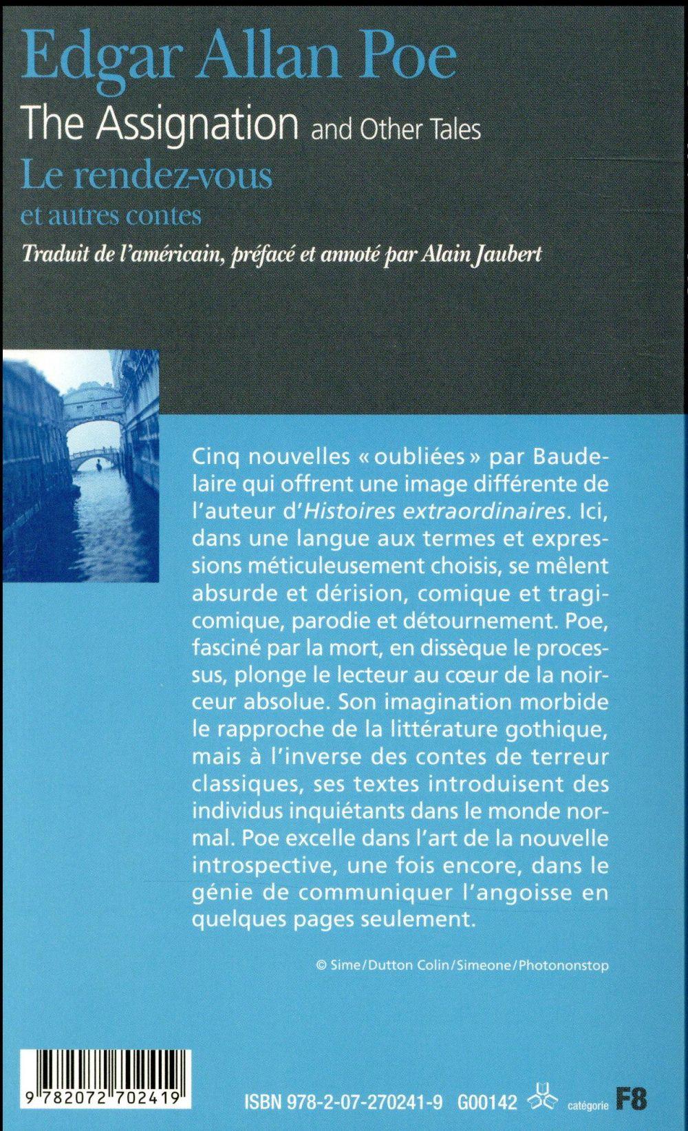 Le rendez-vous et autres contes ; the assignation and other tales