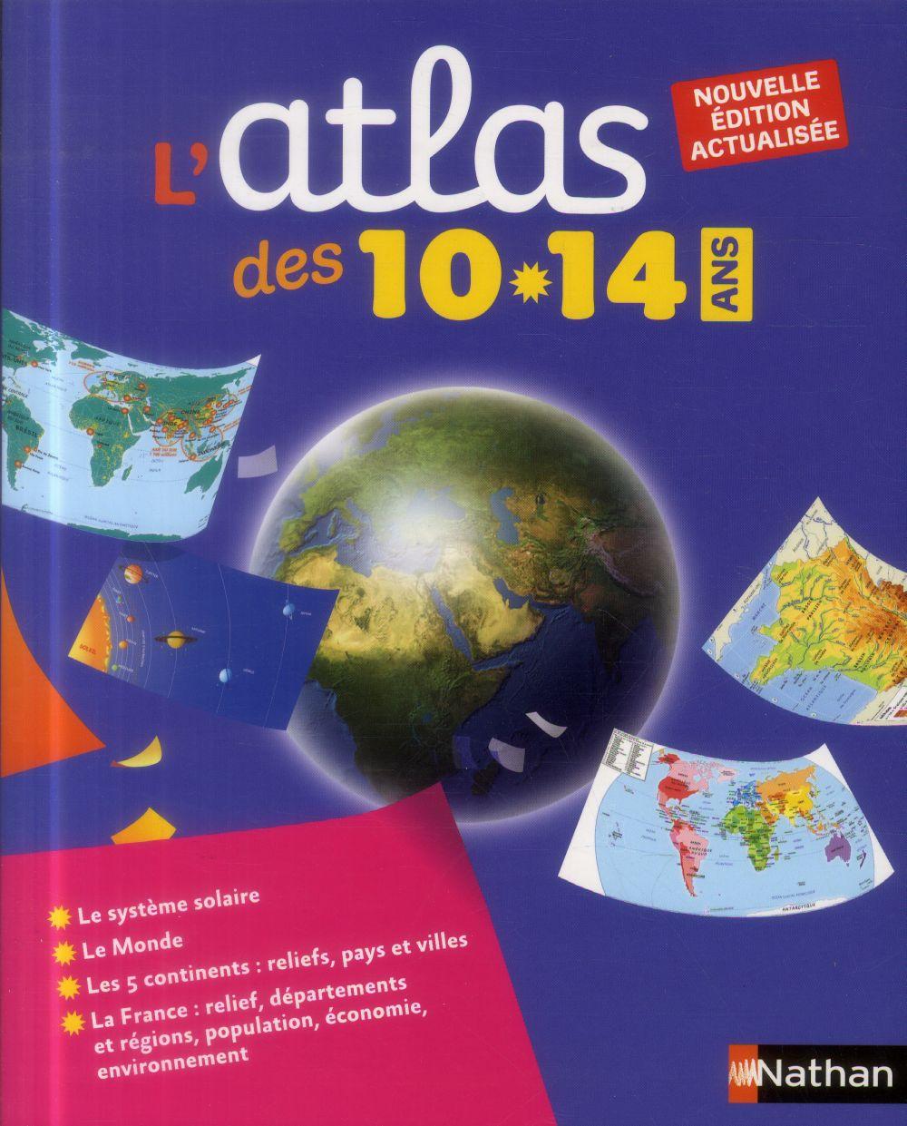 L'Atlas ; Des 10-14 Ans