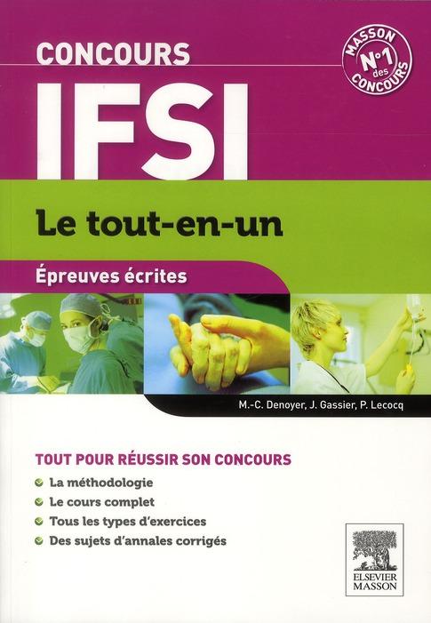 Concours Ifsi ; Epreuves Ecrites (6e Edition)