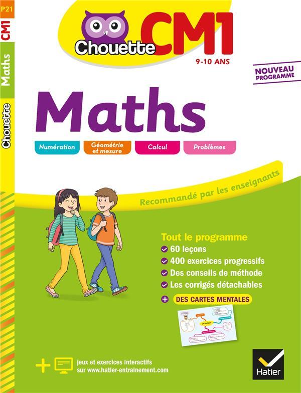 Chouette entraînement ; maths ; CM1