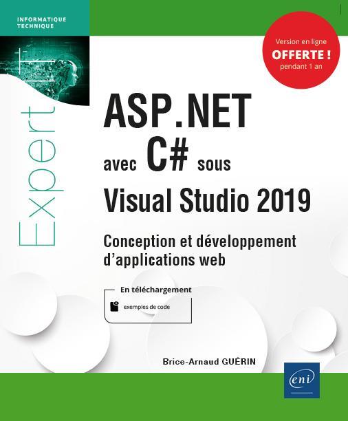 ASP.NET avec C# sous Visual Studio 2019 ; conception et développement d'applications Web