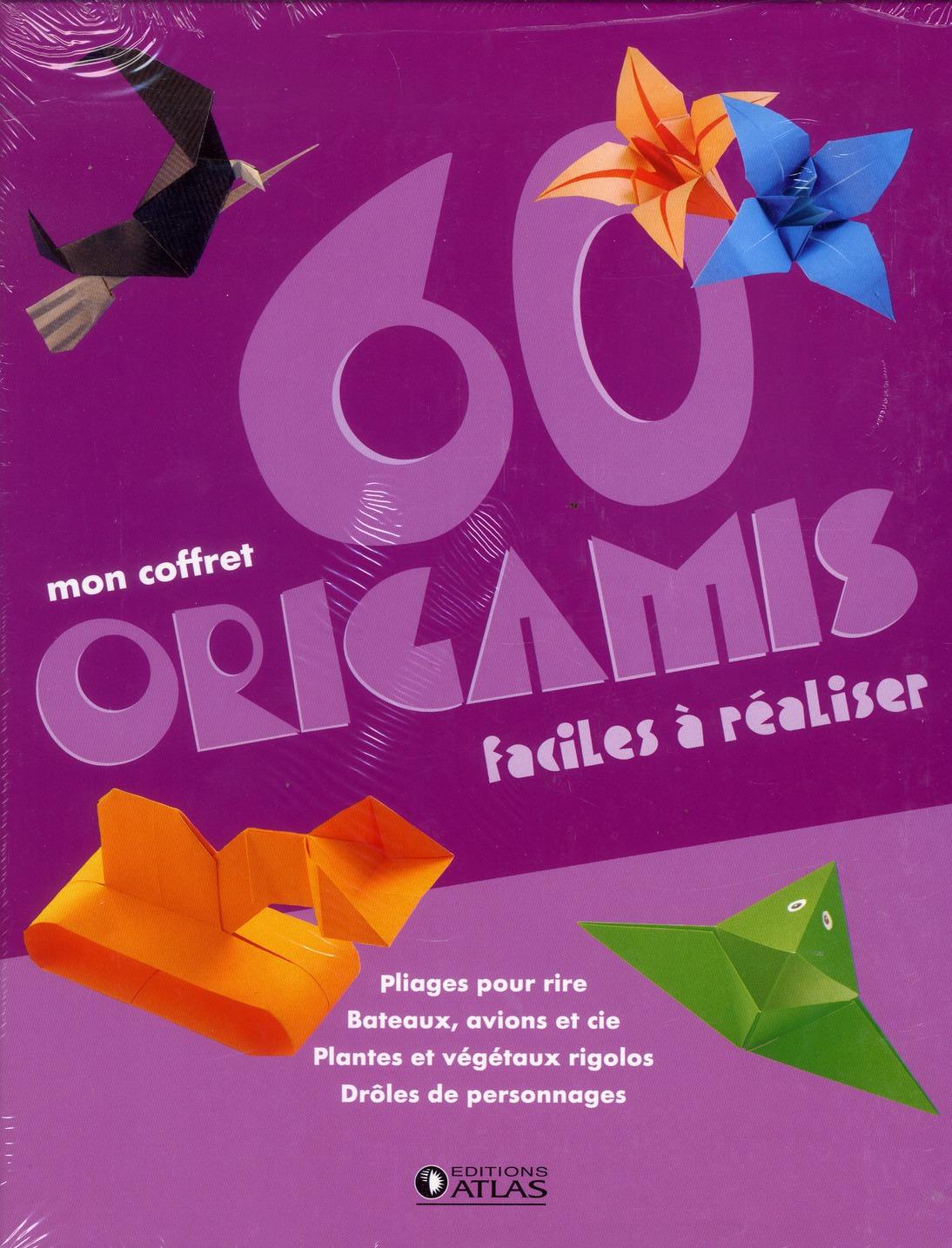 Mon coffret 60 origamis ; faciles à réaliser