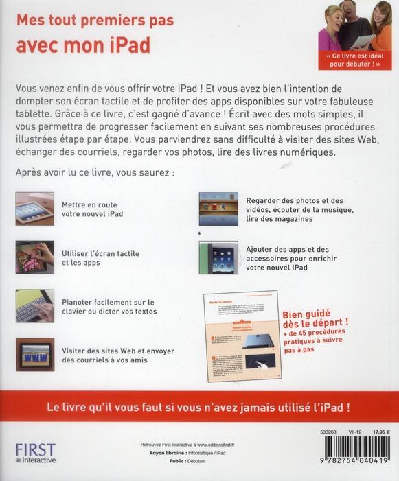 Mes tout premiers pas avec mon iPad 3