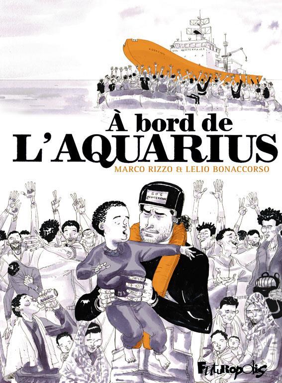 à bord de l'Aquarius