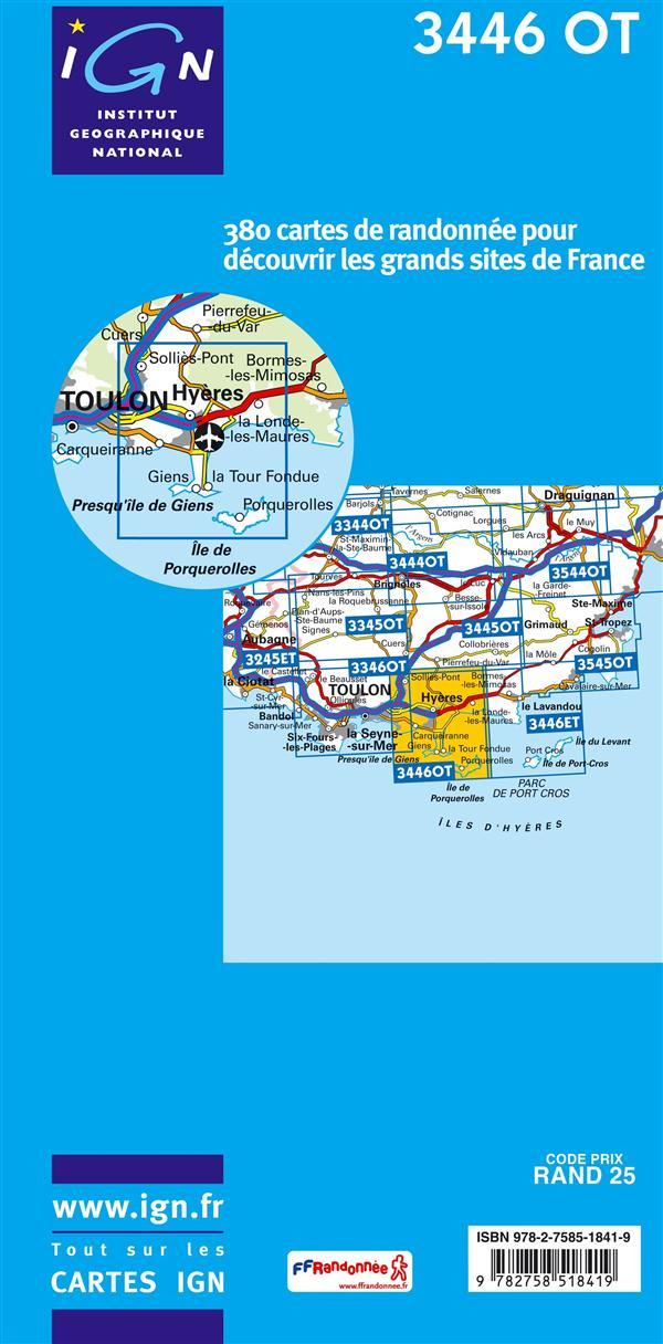 Hyères ; île de Porquerolles