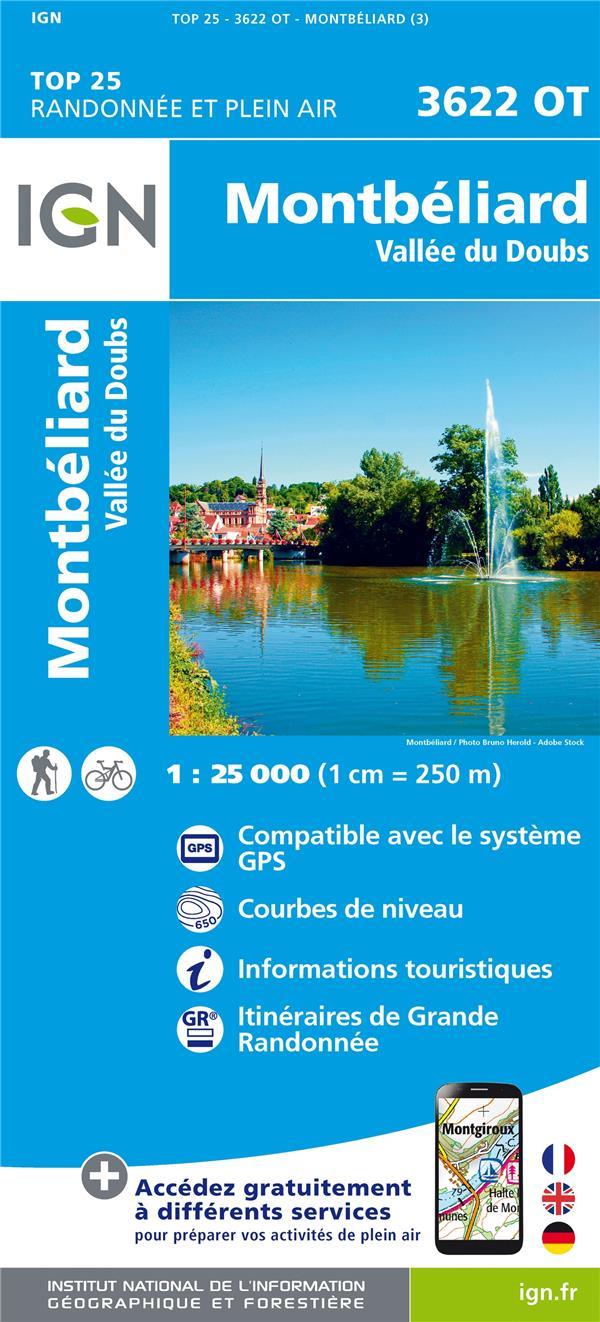 3622OT ; Montbéliard ; Vallée du Doubs