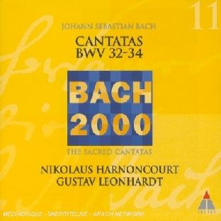 Cantatas Bwv 32-34