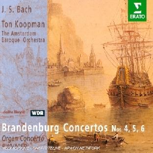 Brandenburg Concertos N 4, 5, 6;Organ Concerto Bwv 1059