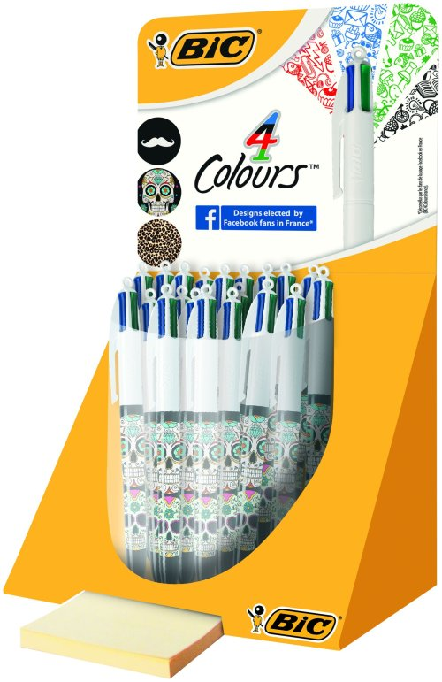 STYLO-BILLE 4 COLOURS DESIGN 4 YOU