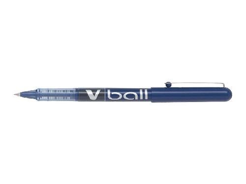 Roller encre liquide - PILOT® - V-Ball 05 - Bleu - Pointe fine