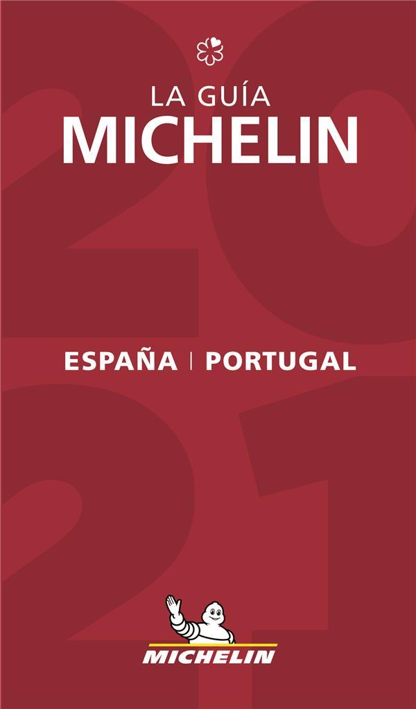 Guide rouge ; Espana & Portugal ; la guia Michelin (édition 2021)