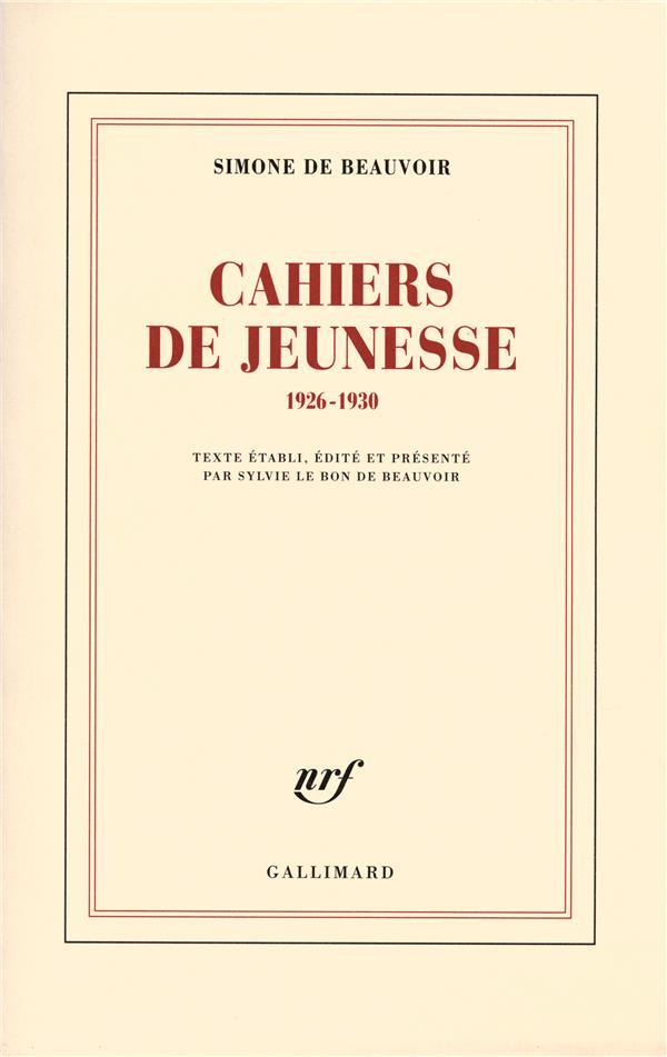 Cahiers De Jeunesse